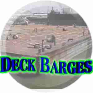 barges for sale, barges, spud barge, crane barge for sale